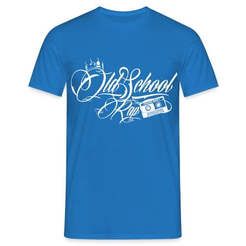 Old School white - Männer T-Shirt