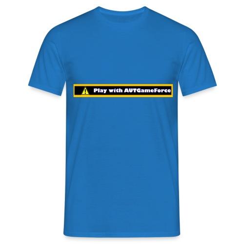 VorsichtATGF png - Männer T-Shirt
