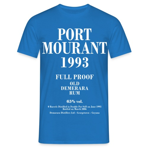 Port Mourant Label Velier Demerara Designs - Herre-T-shirt