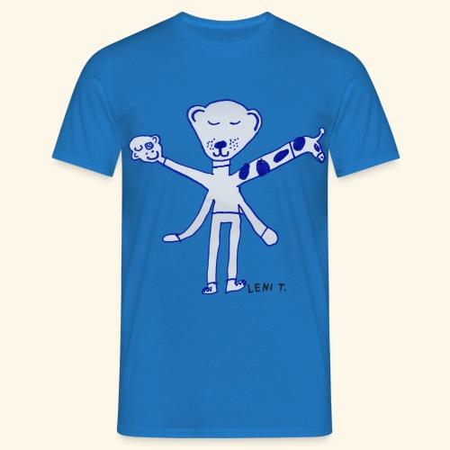 LeniT Teddy With a Twist - Miesten t-paita