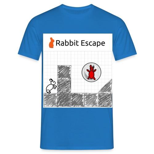 Rabbit Escape Basher - Men's T-Shirt