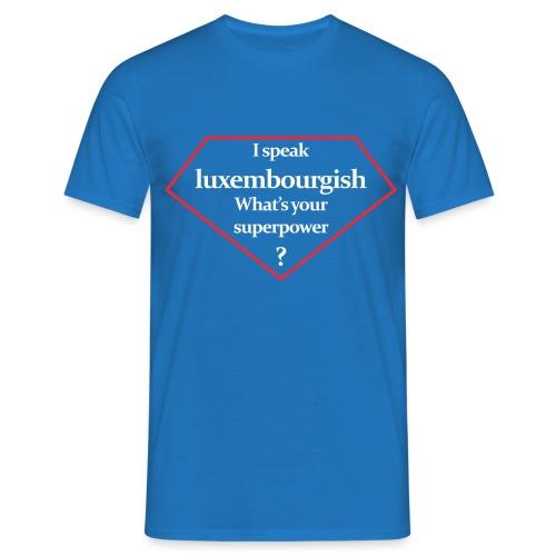 luxembourgish superpower - Männer T-Shirt
