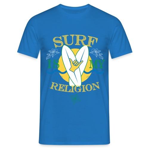 Surf-is-my-religion - Maglietta da uomo