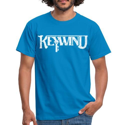 Keywind White Logo - T-skjorte for menn