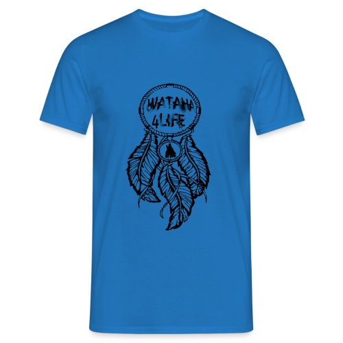 lapaczWatahaCzarny - Koszulka męska