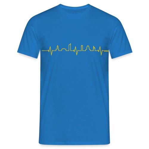 LEheartbeat gelb - Männer T-Shirt
