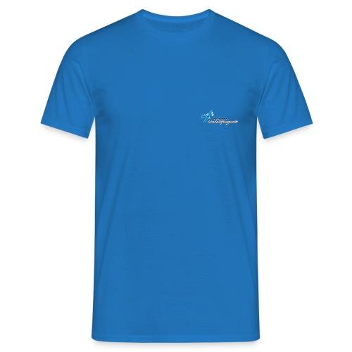 Modellflugwelt Flugzeug u. Schriftzug - Männer T-Shirt