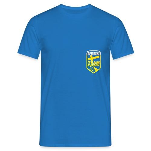 Afterski Team Beer Logo - T-shirt herr