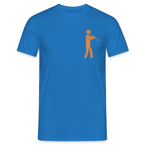 orange - Männer T-Shirt