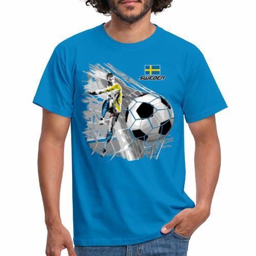 FP22F 16 SWEDEN FOOTBALL - Miesten t-paita