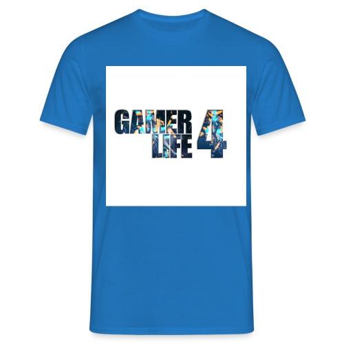 GAMER4LIFE png - Men's T-Shirt