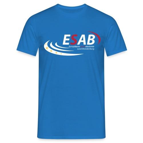 Logo_ESAB_2015 - Männer T-Shirt