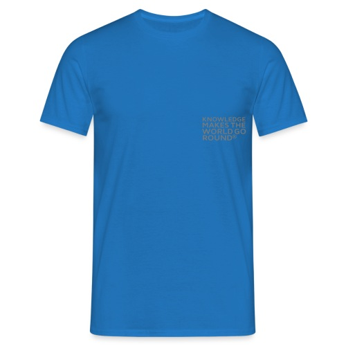 Knowledge - Männer T-Shirt
