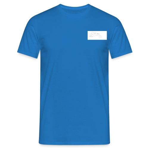 bw signiture - Men's T-Shirt