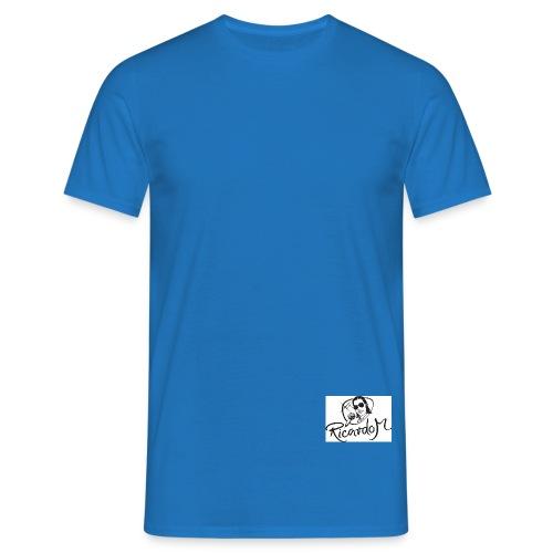 ricardo m logo black web jpg - Männer T-Shirt