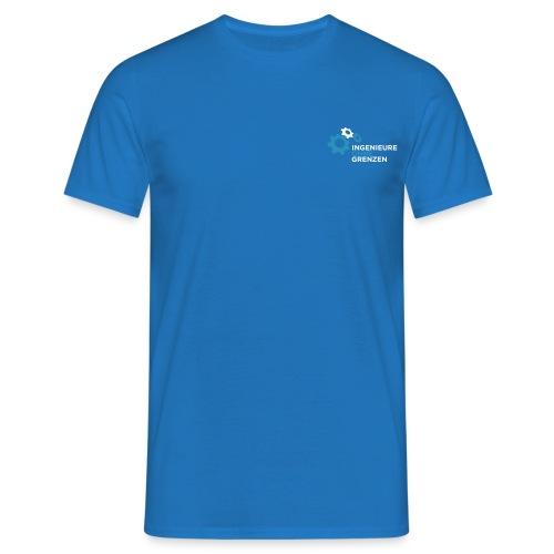 logo v1 aufdunklemblau cmyk - Männer T-Shirt