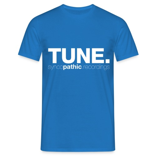 TUNE White - Men's T-Shirt