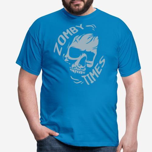 zomby zeiten ära zombie - Männer T-Shirt