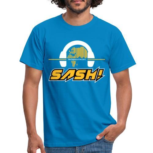 SASH! Logo 2020 Headfone - Men's T-Shirt