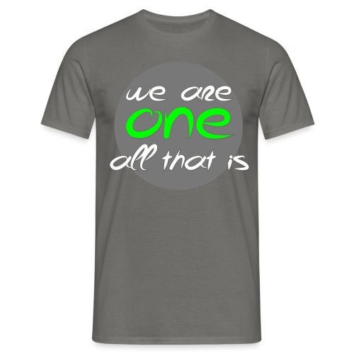 We are all ONE - Herre-T-shirt