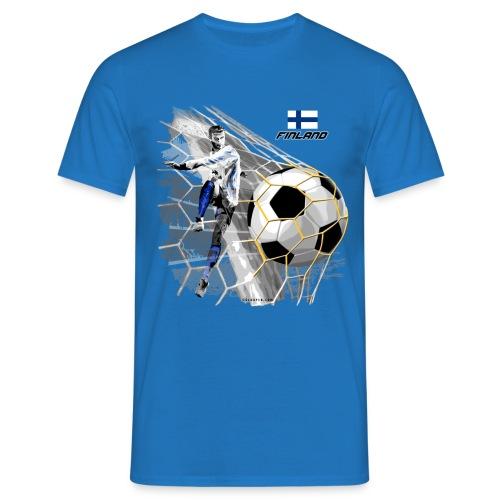 GP22F-05 FINLAND FOOTBALL PRODUCTS - Tuotteet - Miesten t-paita