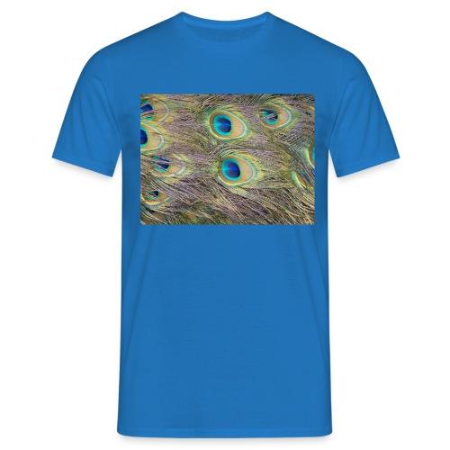 Peacock feathers - Miesten t-paita