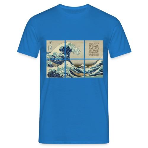 La grande onda di Kanagawa, Katsushika Hokusai - Maglietta da uomo