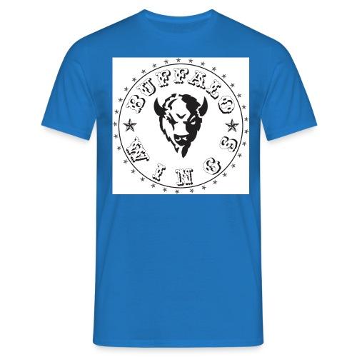 Buffalologojpg jpg - Männer T-Shirt