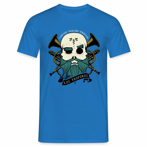 Los Teoporos Logo Pirate - T-shirt Homme