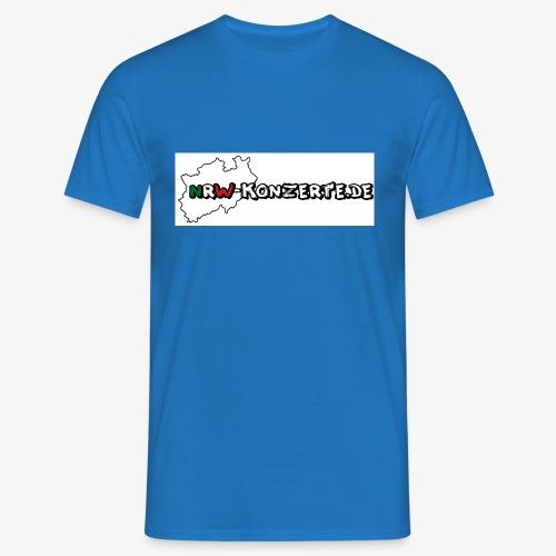 nrw-konzerte-logo-shop - Männer T-Shirt
