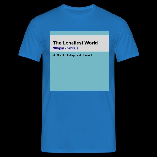 The Loneliest World cover - Men's T-Shirt