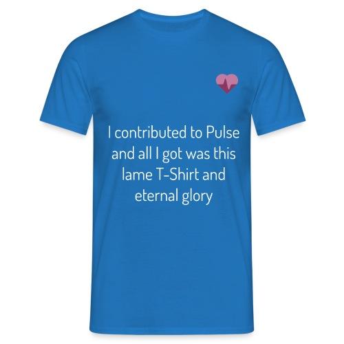 pulse shirt1 black - T-shirt herr