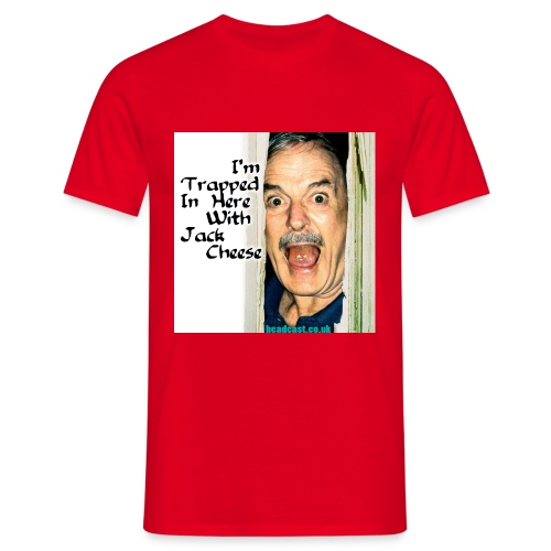trapped w cheese - Men's T-Shirt