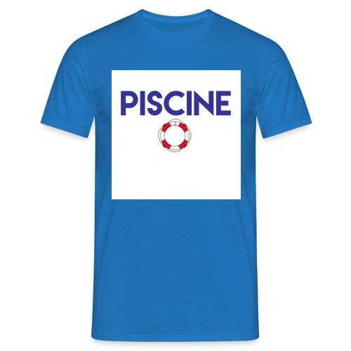 piscine jpg - T-shirt Homme