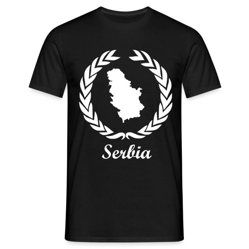 Connect ExYu Serbia White Edition - Männer T-Shirt