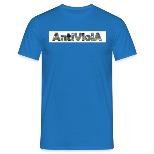 antiviola1 - Männer T-Shirt