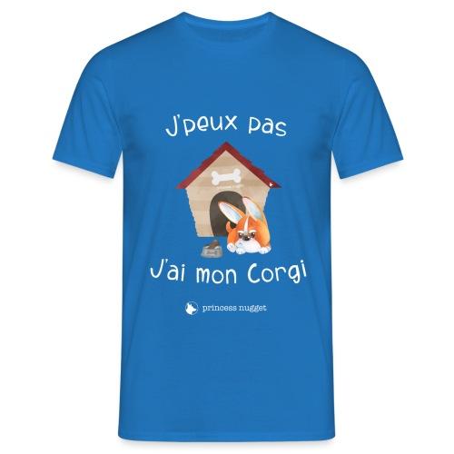 J'peux pas j'ai mon corgi - Grumpy Corgi - T-shirt Homme