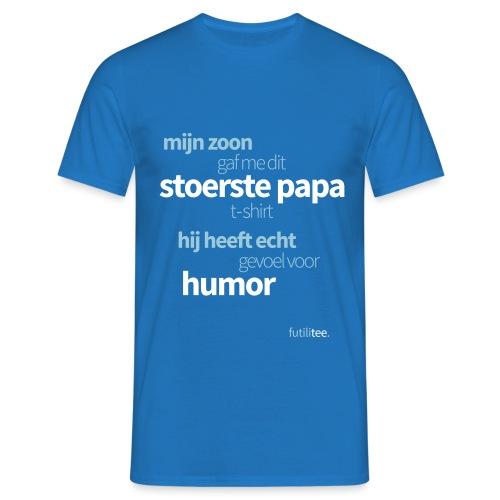 Stoerste papa shirt - Mannen T-shirt