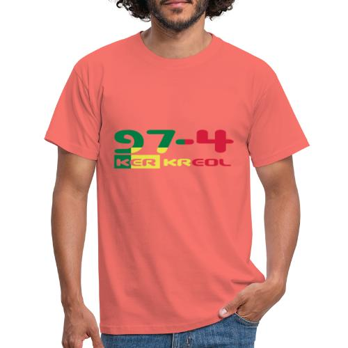 974 ker kreol Rastafari - T-shirt Homme