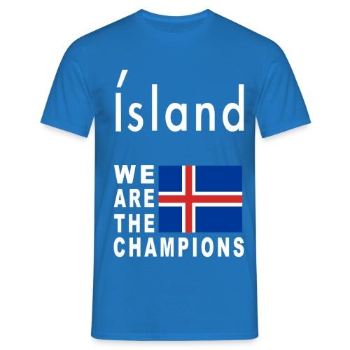 Island Football Champion - Men's T-Shirt