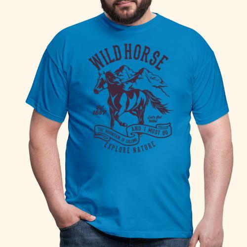 Wild Horse - Männer T-Shirt