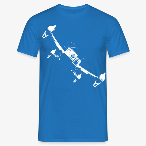 quadflyby2 - Men's T-Shirt
