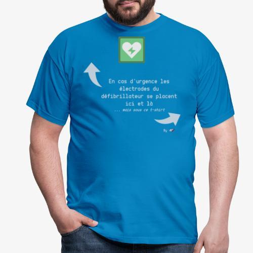 Défibrillateur - T-shirt Homme