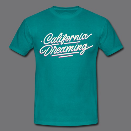 CALIFORNIA DREAMING Vintage Tee Shirt - Men's T-Shirt