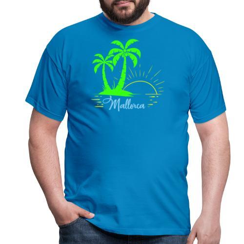 Die goldenen Sonnenuntergänge von Mallorca - Männer T-Shirt