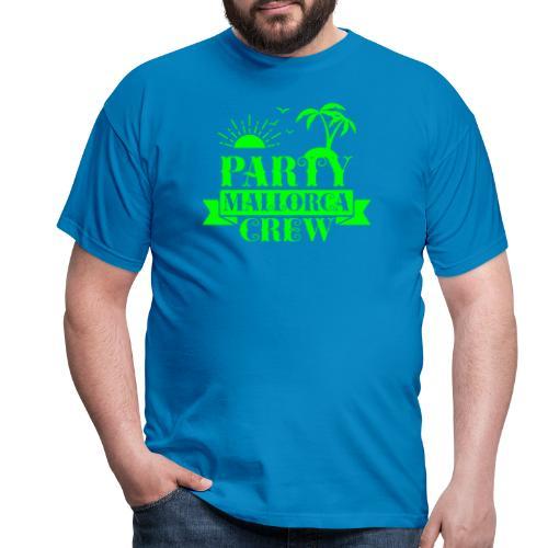 Mallorca PARTY Crew - Männer T-Shirt