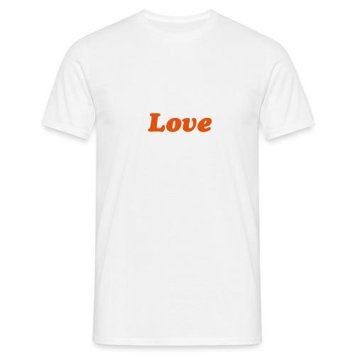 love - Mannen T-shirt