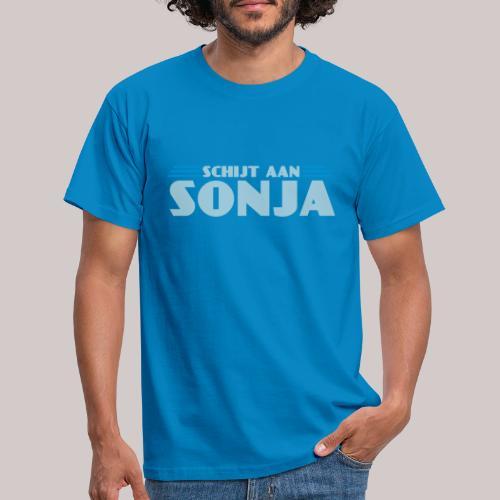 schijtaansonja - Mannen T-shirt