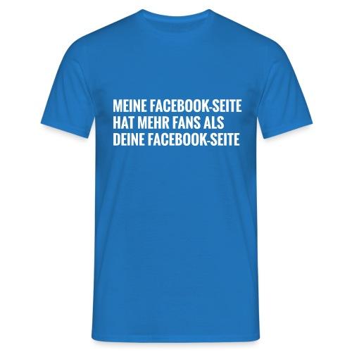 Facebook Vergleich - Männer T-Shirt