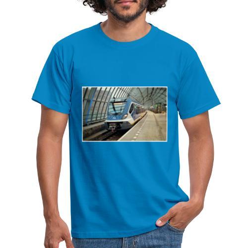 Sprinter in Amsterdam Sloterdijk - Mannen T-shirt